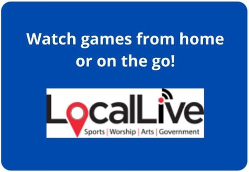 Watch games from home or on the go with LocalLive