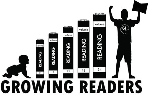 Logo for Growing Readers program