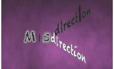 Misdirection play logo